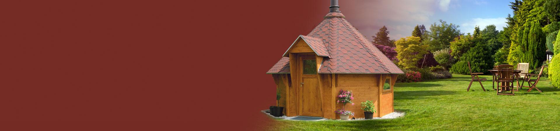 Grillkota und Holzbau